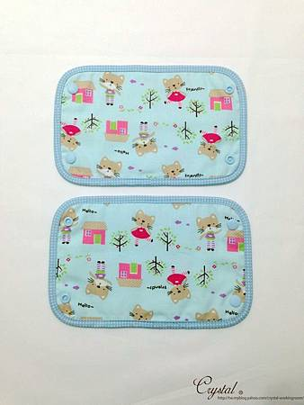 咖啡貓咪-藍色-Ergo背巾口水巾-4.jpg