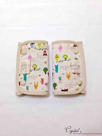 微笑動物園-米色-Ergo背巾口水巾-1.jpg