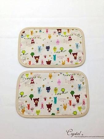 微笑動物園-米色-Ergo背巾口水巾-4.jpg