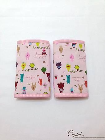 微笑動物園-粉色-Ergo背巾口水巾-2.jpg