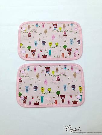 微笑動物園-粉色-Ergo背巾口水巾-4.jpg