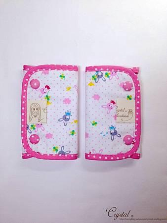 幸運兔-粉色-Ergo背巾口水巾-1.jpg