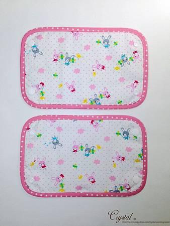 幸運兔-粉色-Ergo背巾口水巾-4.jpg