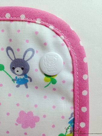 幸運兔-粉色-Ergo背巾口水巾-6.jpg