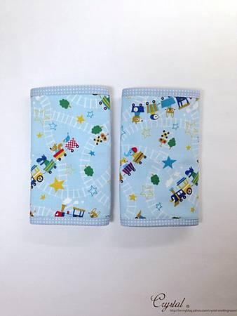 動物列車-藍色-Ergo背巾口水巾-2.jpg