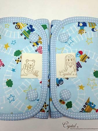 動物列車-藍色-Ergo背巾口水巾-5.jpg