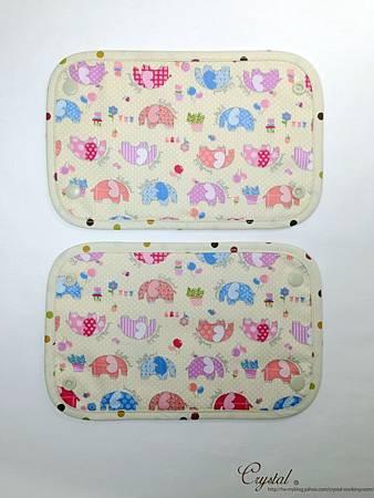 點點大象-米色-Ergo背巾口水巾-4.jpg