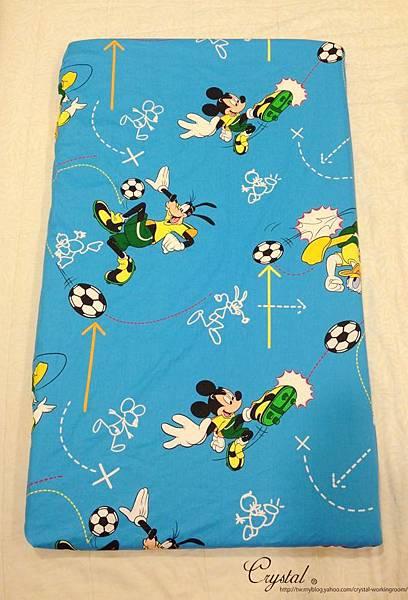 米奇-藍色-嬰兒床包130X70X10cm-1.jpg