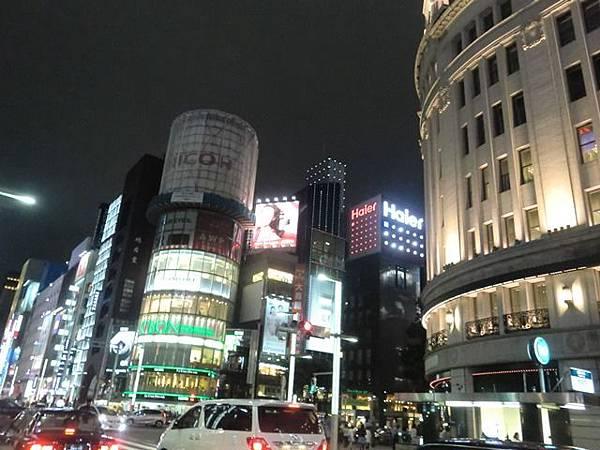 銀座歌舞伎座、和光鐘樓、木村家麵包 銀座歌舞伎座、和光鐘樓、木村家麵包
