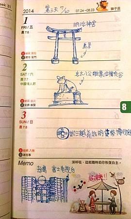 超鐵腿行程  之  台場(二之二)