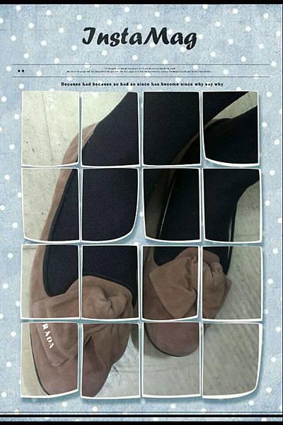 PRADA粉紫平底鞋