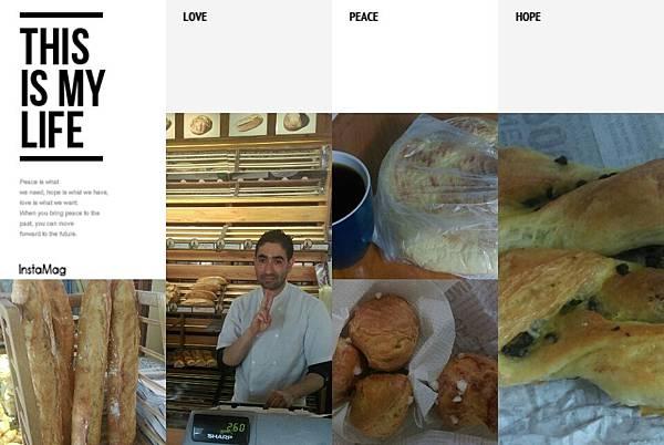 1在巴黎的住處附近有一家麫包店,它的法國長棍Baguette麫包超香,年輕的帥哥老闆很友善,我們每天早上去買早餐麫包時,他總會多送幾顆不同口味的小球包請我們嚐嚐,某日早上T小姐我沒味口,只點一個約2口大的小可頌麵包,回到家才發現他竟然在袋子裏多裝了一個給我,乀~那個~是怎樣啊!是因為我穿了超大破洞的牛仔褲(像窮人),還是因為我長得美,他在暗戀我啊!.jpeg