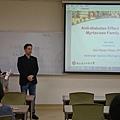 系上-徐慶琳教師開場歡迎並介紹講者