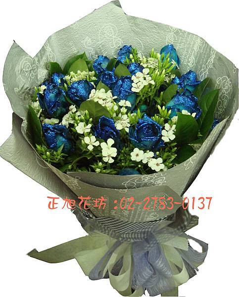 璀璨藍玫瑰01