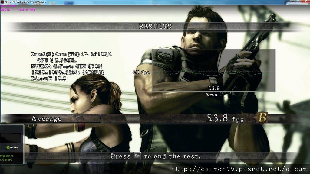 GT70_惡靈古堡5_F_BENCH_TURBO_同步錄影