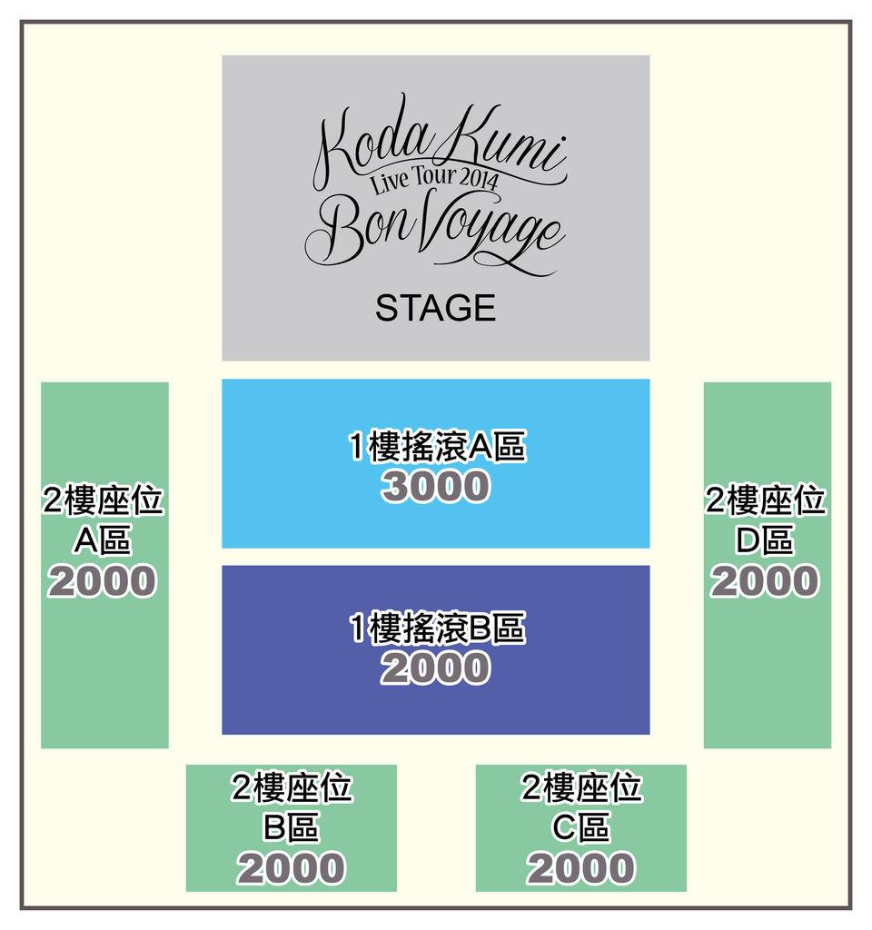 倖田來未2014台灣演唱會座位圖.jpg