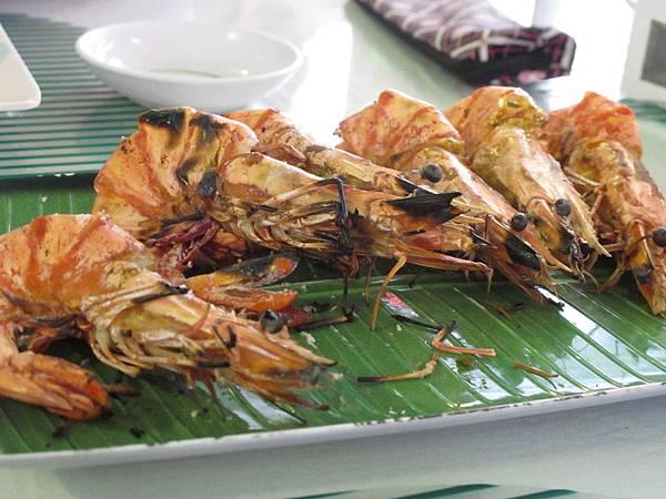 【長灘島】海鮮-碳烤明蝦.JPG