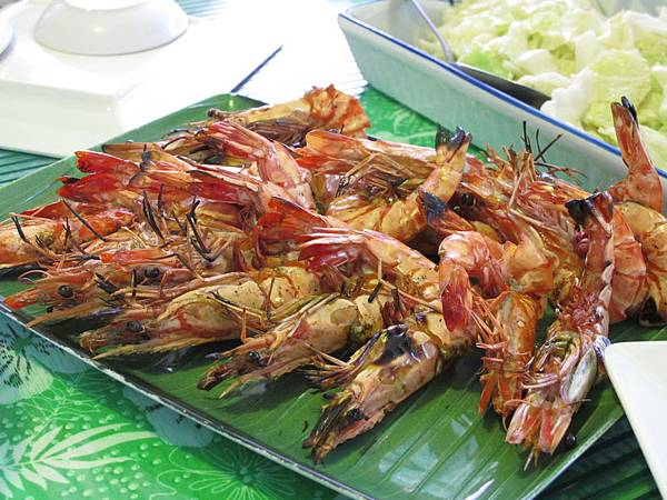 【長灘島】海鮮-又是碳烤明蝦.JPG