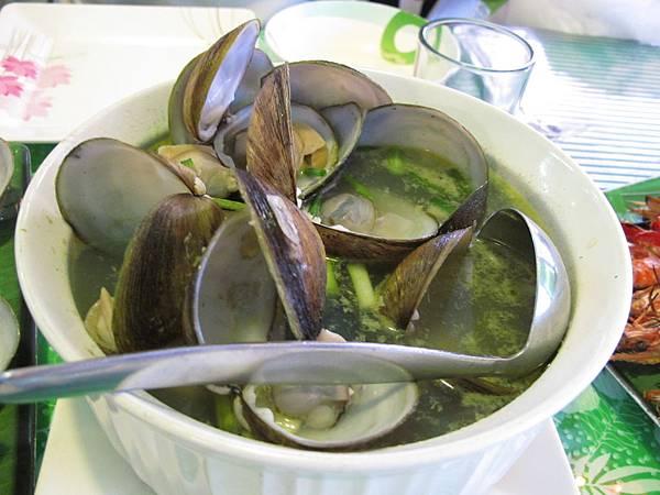 【長灘島】海鮮-蛤蜊湯.JPG
