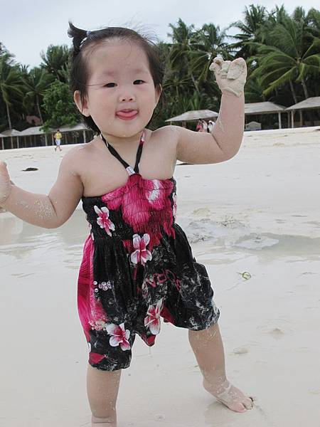 【長灘島】FRIDAYS沙灘玩沙.JPG