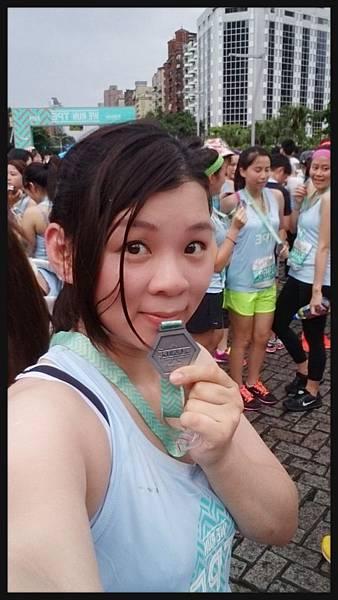 2014.06.08我和我的第一面完跑獎牌