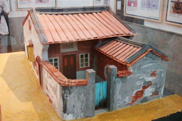安平古厝模型