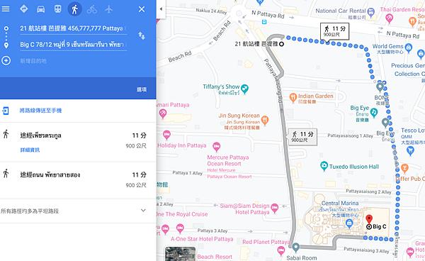 商圈圖,10分鐘的步行距離