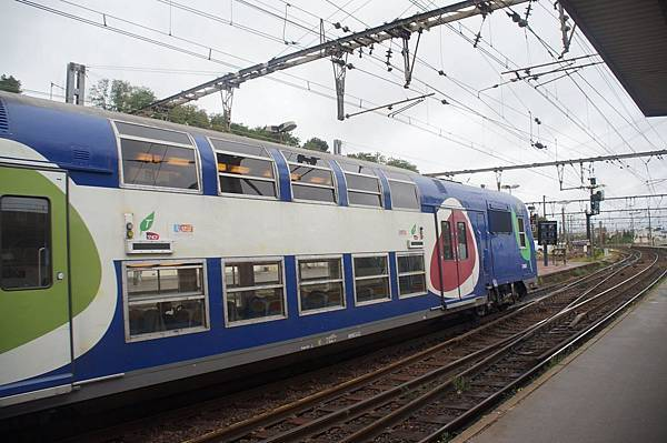 巴黎雙層火車