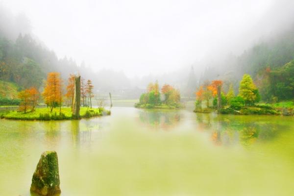 18明池楓紅意境幽邃之美