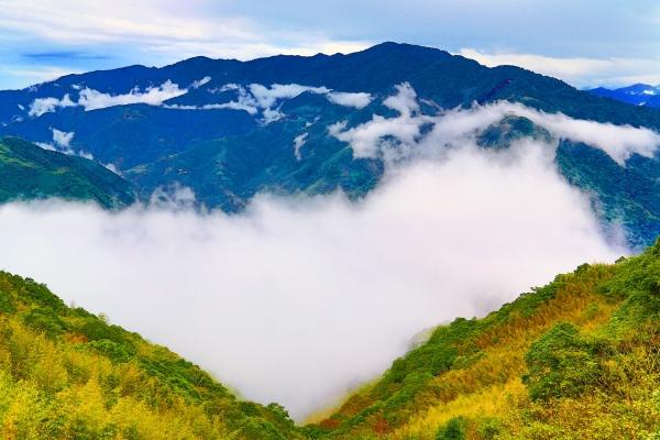 9尖石鄉錦屏村 在峽谷與雲端賞楓   一
