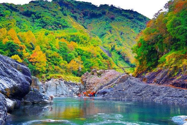 15尖石鄉錦屏村 在峽谷與雲端賞楓   一