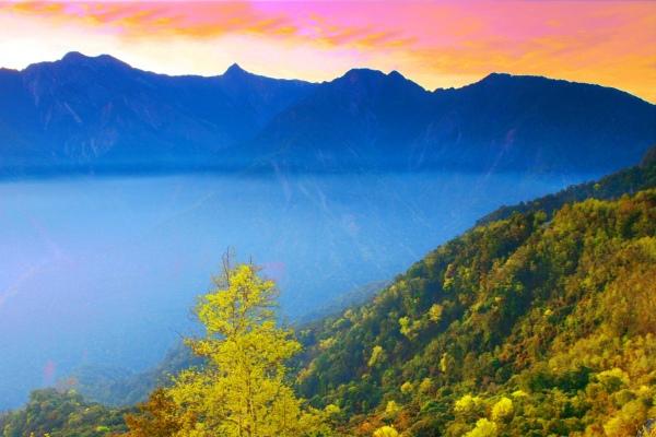 8玉山國家公園     品雪與雲海之美