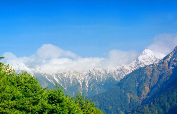 14玉山國家公園     品雪與雲海之美