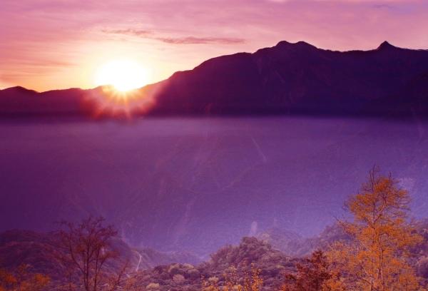 15玉山國家公園     品雪與雲海之美