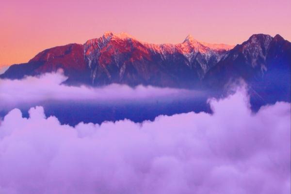 19玉山國家公園     品雪與雲海之美