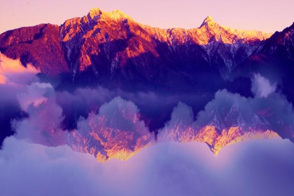 20玉山國家公園     品雪與雲海之美