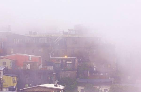 5九份山嵐氤氳雨潤之美
