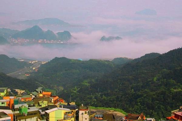 2九份山嵐氤氳雨潤之美