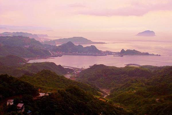 3九份山嵐氤氳雨潤之美