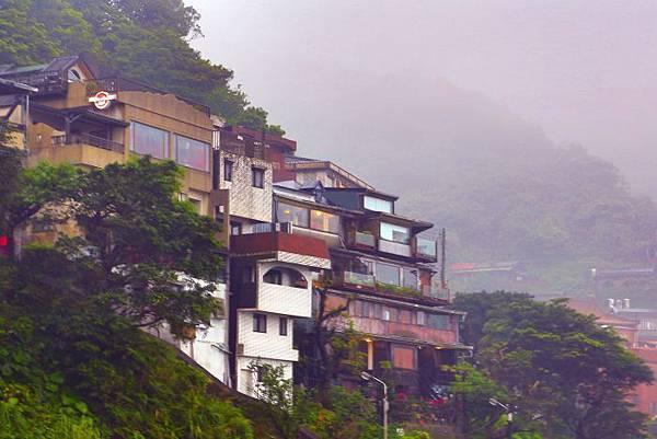 9九份山嵐氤氳雨潤之美