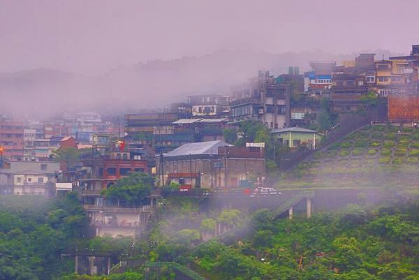 14九份山嵐氤氳雨潤之美