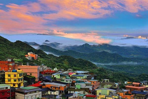 19九份山嵐氤氳雨潤之美