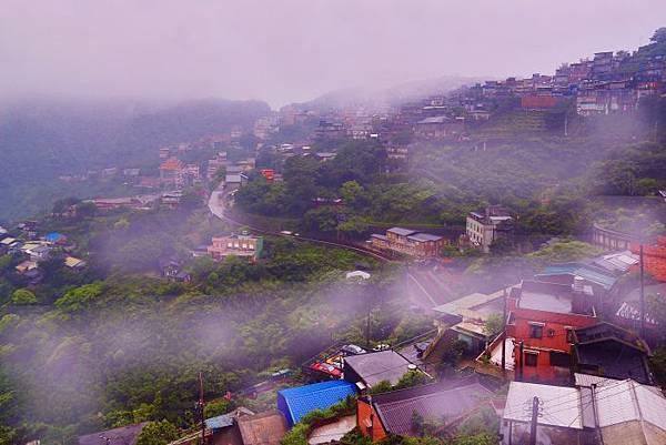 7九份山嵐氤氳雨潤之美