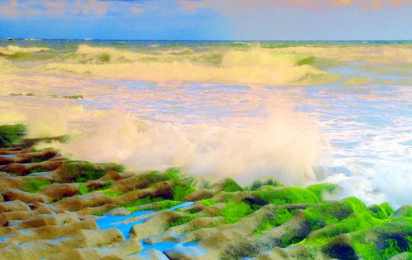 13老梅石槽碧綠的精靈