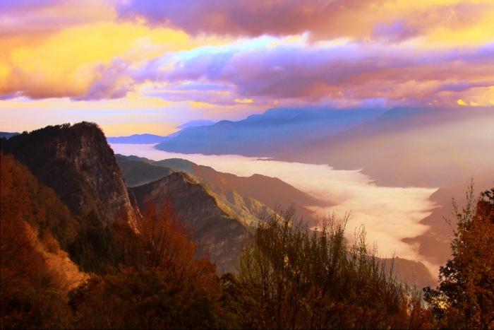 9對台灣山水美的情懷