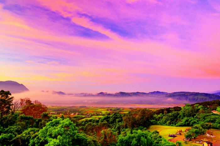 1對台灣山水美的情懷