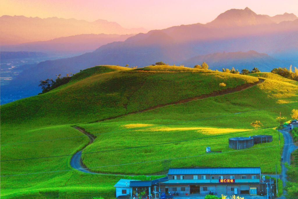 10對台灣山水美的情懷