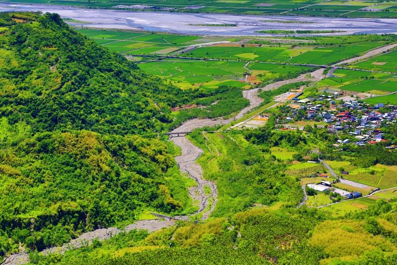 5花東縱谷田園景觀之美