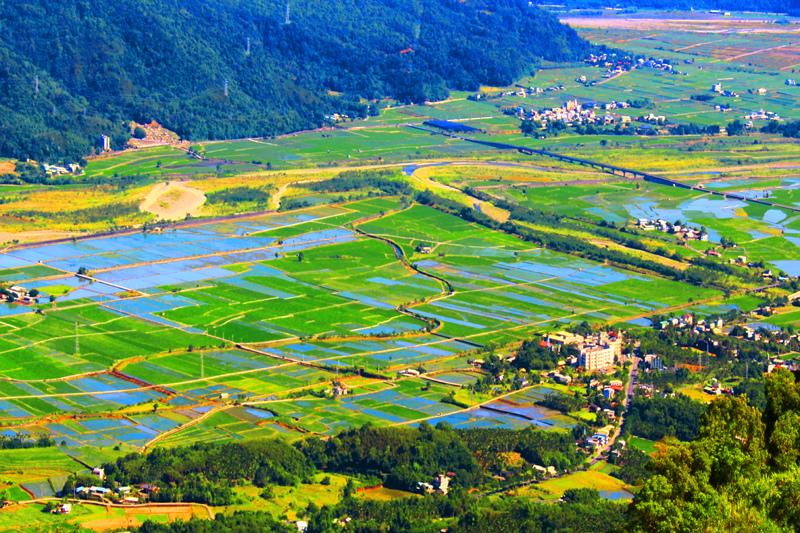 1花東縱谷田園景觀之美