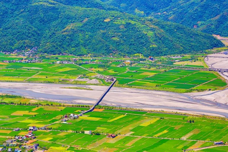 3花東縱谷田園景觀之美